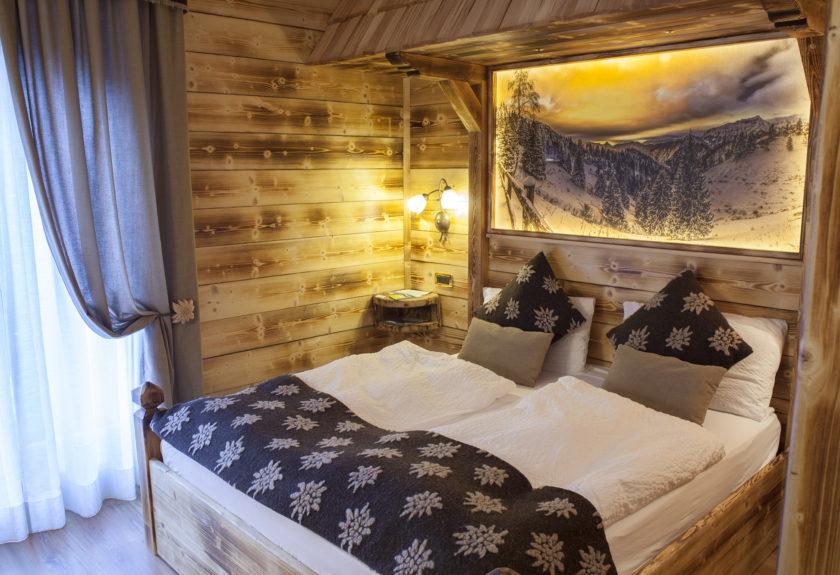 Seconda stanza alpine chalet